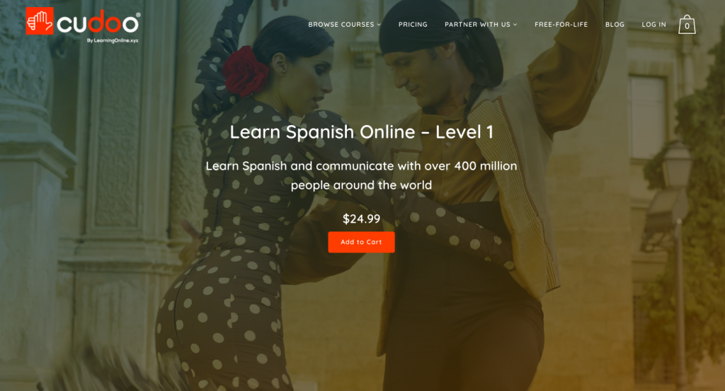 Spanish Language Level 1 Online Course